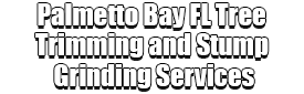Palmetto Bay FL Tree Trimming and Stump Grinding Services Logo-We Offer Tree Trimming Services, Tree Removal, Tree Pruning, Tree Cutting, Residential and Commercial Tree Trimming Services, Storm Damage, Emergency Tree Removal, Land Clearing, Tree Companies, Tree Care Service, Stump Grinding, and we're the Best Tree Trimming Company Near You Guaranteed!